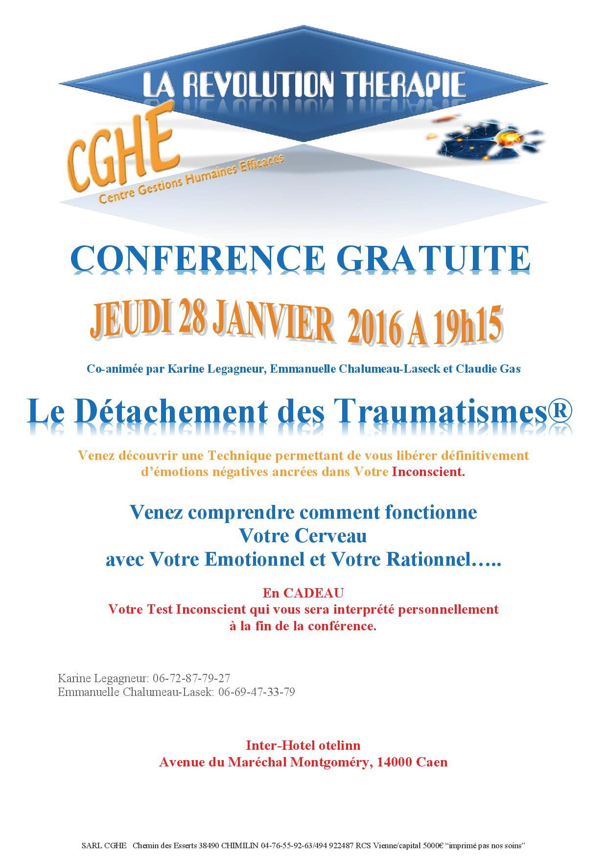 conférence 28 janvier Caen