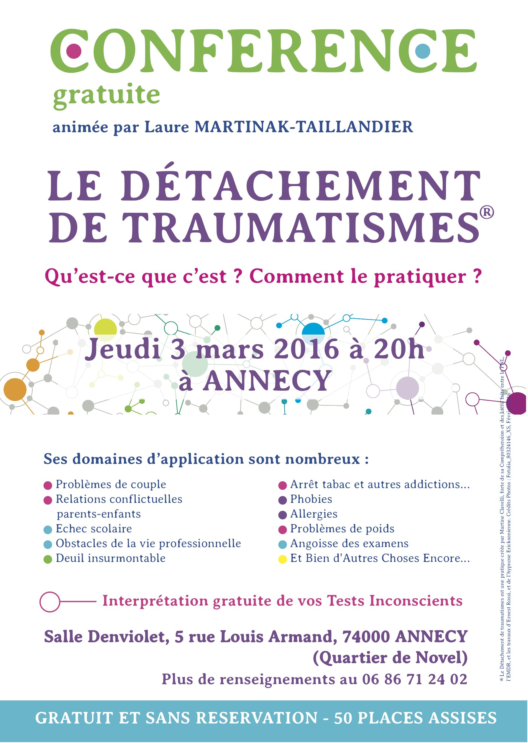 Conférence Formation DT Annecy