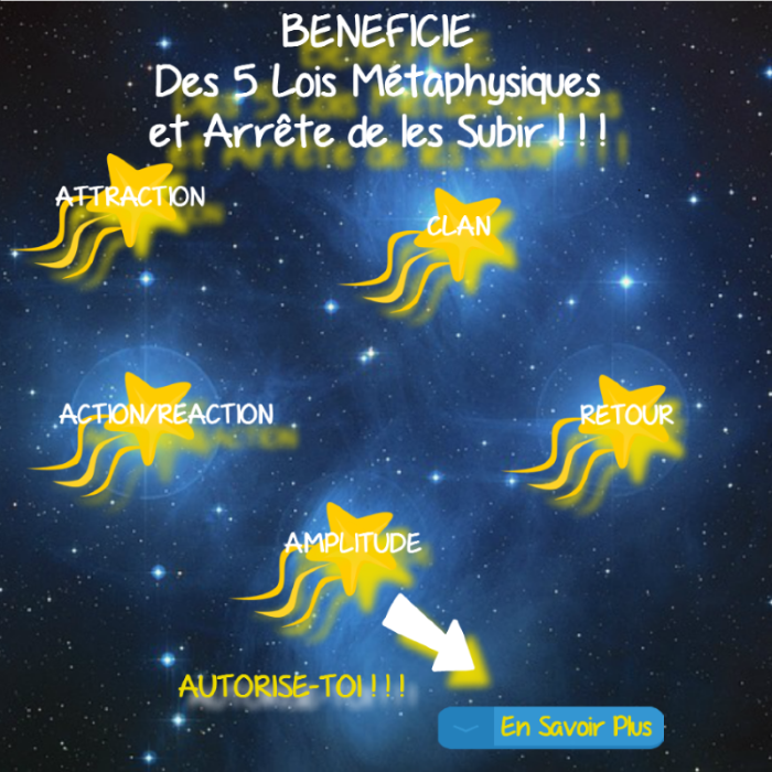 Conférence Les Lois Métaphysiques